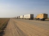 Grenze Kasachstan-Uzbekistan: Warteschlange
