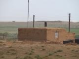 Kasachstan: Lehmhaus