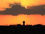 Kasachstan: Sonnenuntergang in der Steppe