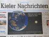 Titelseite der Kieler Nachrichten 9.11.2012