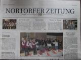 Titelseite der Landeszeitung-Nortorf Regional 7.12.2012
