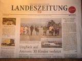 Titelseite der Landeszeitung 5.9.2012