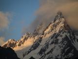 Matterhorn-Raubkopien im Kaukasus bei Dombai