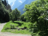 Kaukasus Dombai Morgenstimmung