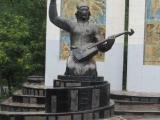 Kalmückien Elista Statue 2
