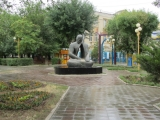 Kalmückien Elista Statue 4