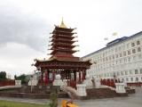 Kalmückien Elista Tempel