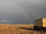 17. Juni Regenbogen in Kalmückien
