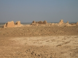 Usbekistan Ayaz Qala 1: Innenhof