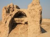 Usbekistan Ayaz Qala 1: Mauerbogen