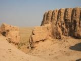 Usbekistan Ayaz Qala 2: Blick auf Stellplatz