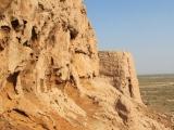 Usbekistan Ayaz Qala 2: Aussenmauer