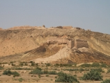 Usbekistan Ayaz Qala: Gesamtansicht