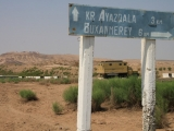 Usbekistan Ayaz Qala: Wegweiser
