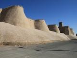 Usbekistan Chiwa: Stadtmauer