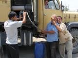Usbekistan Diesel tanken in Nukus