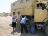 Uzbekistan Diesel tanken in Nukus